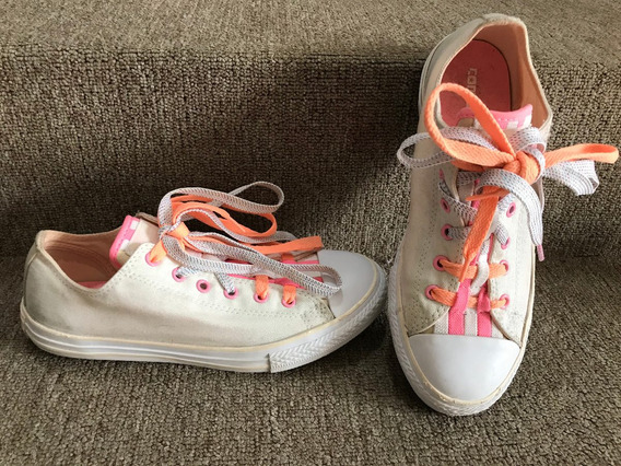 Converse Chuck Taylor Loopholes Junior Blanco/sunset Glow