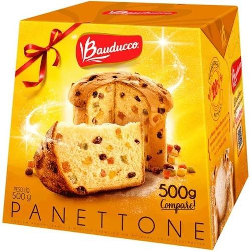 Imagem 1 de 1 de Panettone Bauducco 500g