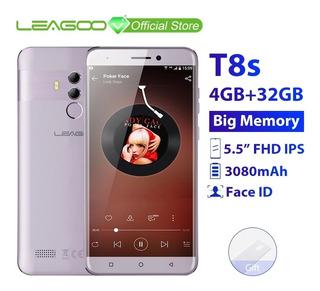 Smartphone Leagoo T8s - Prata 4gb Ram 32gb Rom Android 8.1