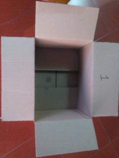 Cajas De Cartón Corrugado Paquetes De 5 Unidades
