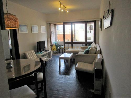 Apartamento 1 Y Medio Dormitorio-ref:3454