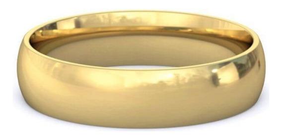Argolla Baño De Oro 23k Anillo Matrimonio 3310021
