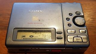 Sony Minidisc Mz-r3 Y Lote De 27 Discos - Usado - Excelente