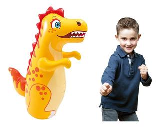 Dinosaurio Involcable Punching Bag Inflable Niños Intex