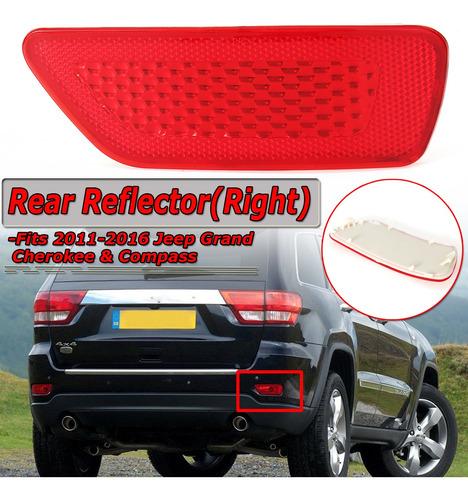 Reflector De Parachoques Trasero Derecho Rojo Para Jeep Gran
