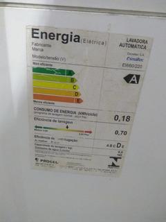 Máquina De Lavar Esmaltec Ew60 6kg