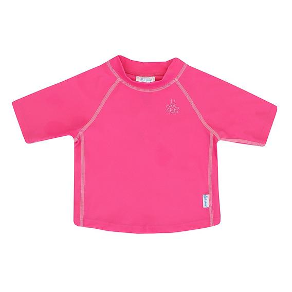 Camisa De Banho I Play Manga Curta Fps 50+ Rosa Pink