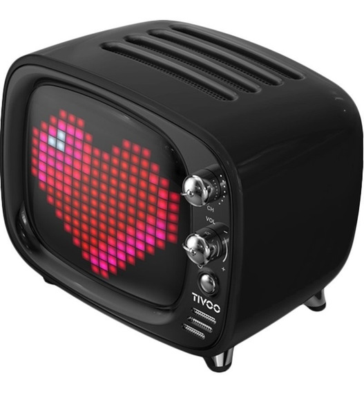 Divoom Tivoo Smart Pixel-art 6 Watts Bluetooth - Preto