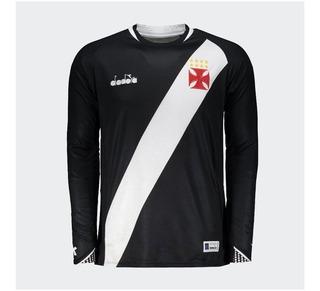 Camisa Vasco Diadora I Manga Longa 2018 - 100%original