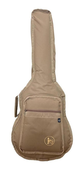 Capa Musical Shop Para Violao Baby Luxo Bege