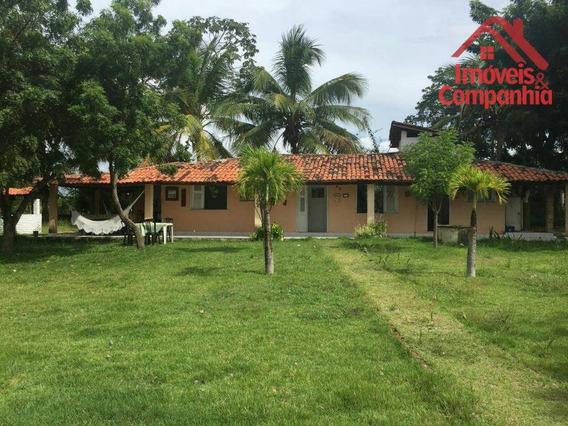 Sítio Com 5 Dormitórios À Venda, 12600 M² Por R$ 450.000 - Cachoeira - Horizonte/ce - Si0004