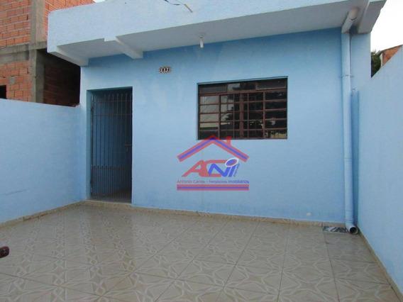 Casa Com 1 Dormitório À Venda, 67 M² Por R$ 190.000 - Jardim Amanda I - Hortolândia/sp - Ca0113