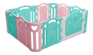 Corral Bebe Plastico Plegable 12 Paneles + Envío / M. O.