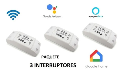 Wifi Smart Switch Interruptor Inteligente On/off Smart Home