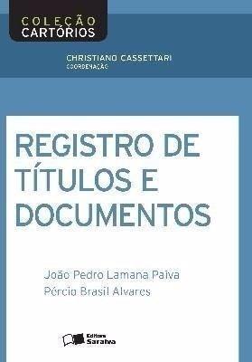 Registro De Títulos E Documentos - Col Cartórios