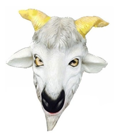 Mascara De Chivo 100% Latex Exlusiva