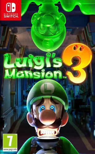 Luigis Mansion 3 Nintendo Switch Nuevo Y Sellado + Obsequio