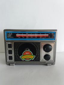 Rádio Am Fm Lê Usb Cartão Sd Recarregável C/ Cabo P/ Tomada