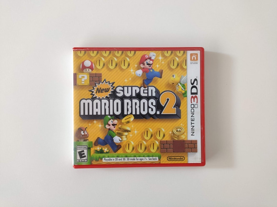 New Super Mario Bros 2 3ds 2ds Usado Semi-novo