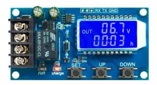 Controlador Carga De Batería Dc 6-60v 10a Con Pantalla Lcd