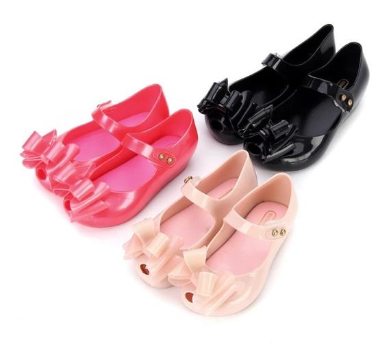 Zapatos Flats Para Niña Mini Melissa 13 A 18 Varios Colores