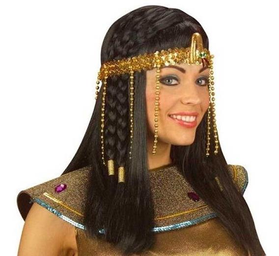 Vincha Egipcia Dorada Cotillon Disfraz Halloween Egresados