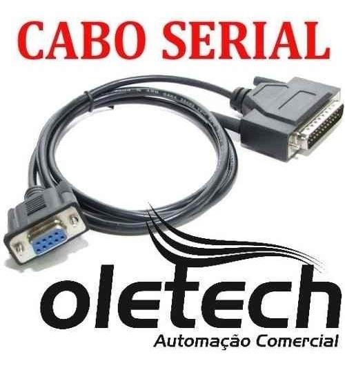 Cabo Serial Para Impressora Oletech