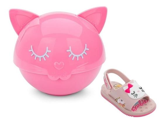 Sandalia Infantil Barbie Fashion Cat Baby Tigela E Talheresb