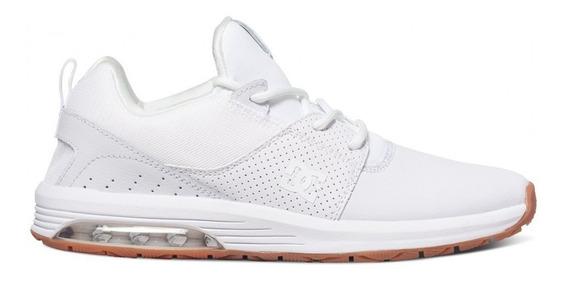 Zapatillas Hombre Blancas Dc Shoes Heatrow Ia Le