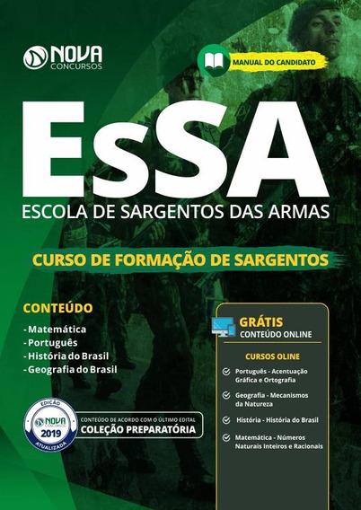Apostila Essa 2019 - Curso De Formação De Sargentos (cfs)