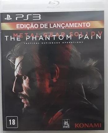 Frete Grátis - Metal Gear Solid V : The Phantom Pain - Ps3