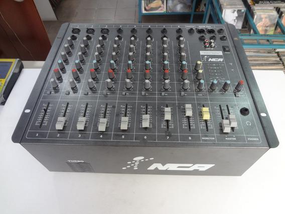 Mesa De Som Amplificada 8 Canais 400 W Rms - Nca