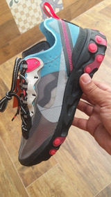 Tenis Nike React Element 87 Blue Chill C/ Nota Fiscal