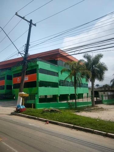 Predio Em Balneário Praia Do Pernambuco, Guarujá/sp De 3550m² Para Locação R$ 57.900,00/mes - Pr970184