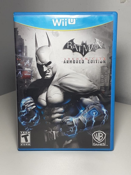 Batman Arkham City Armored Edition Wii U Usado Original Usa