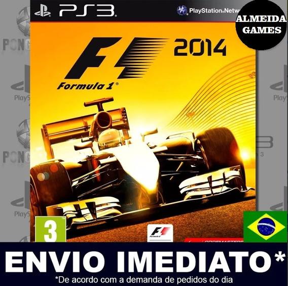 Ps3 F1 2014 Dublado Português Mídia Digital Jogue Agora