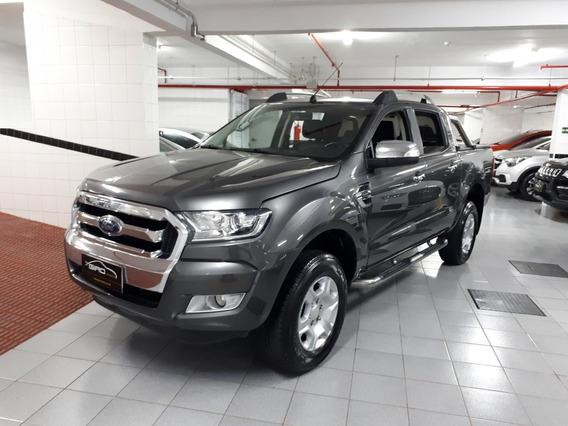 Ford Ranger Xlt 2.5 Flex 2017 Cinza 20 Mil Km Único Dono