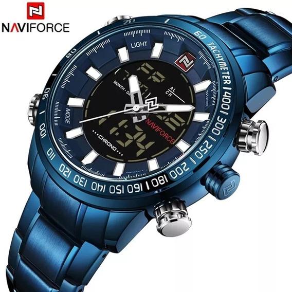 Relógio Masculino Original Naviforce Prova D