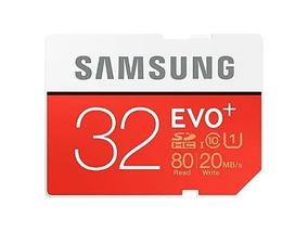 1 Cartão Samsung 32gb Evo + Sdhc Classe 10/ 4 64gb.