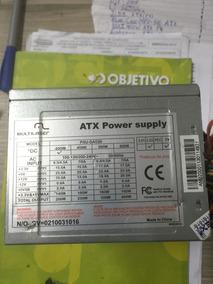 Fonte Atx 24pinos Sata Multilaser 400/450w Model Psu-ga039