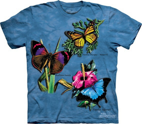 Playera 4d - Unisex Infantiles - 1308 Winged Collage.