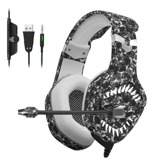 Onikuma K1b Pro 3.5mm Com Fio Gaming Headset Over Ear Pc