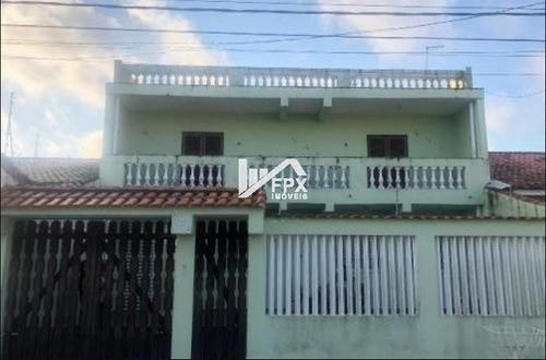 Casa No Balneário Gaivota, Em Itanhaém, Lado Praia Ca036