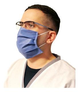 Barbijo Anmat Elastico Antibacterial Descartable Sms X Mayor