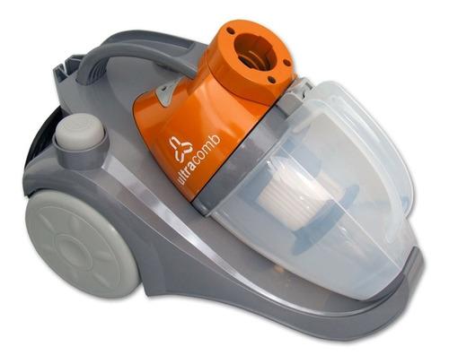 Imagen 1 de 2 de Aspiradora Ultracomb AS-4220 1.2L  gris y naranja 220V