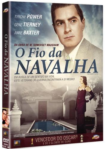 Imagem 1 de 2 de Dvd O Fio Da Navalha - Classicline - Bonellihq L19