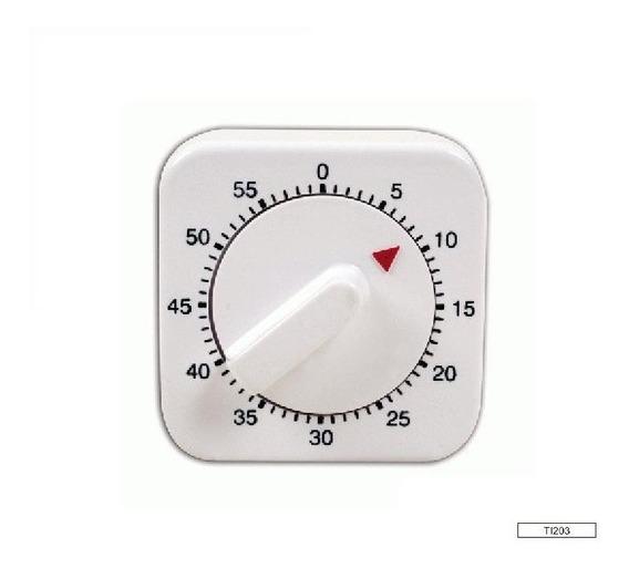 Timer Mecánico Luft Ti204 Ideal Para Gastronomía Alarma