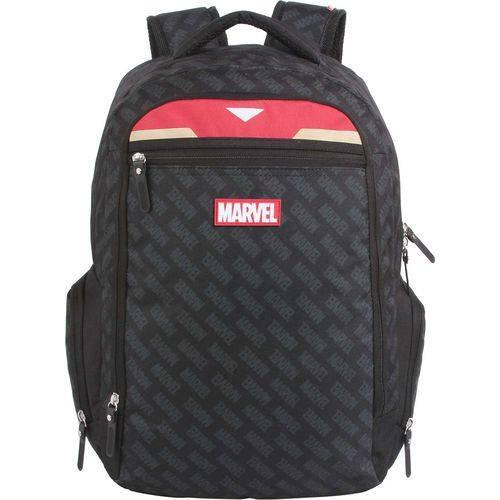 Mochila Marvel Iron Man Preta #11469 - Dmw