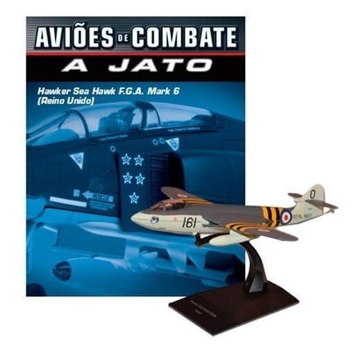Hawker Sea Hawk F G A Mark 6 - Coleção Aviões De Combate