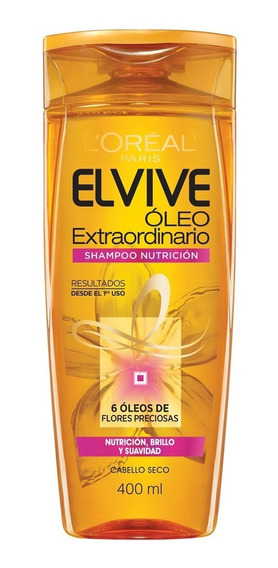 Shampoo Elvive Oleo Extraordinario Nutrición 400ml Loreal